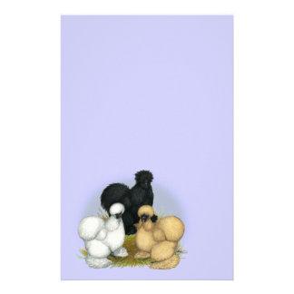 Silkie Trio Stationery