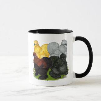 Silkies:  Assorted Roosters Mug