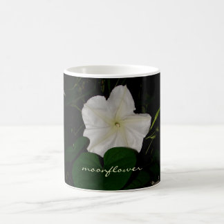 Silky Night-Blooming Moonflower Coffee Mug