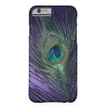 Silky Purple Peacock Feather