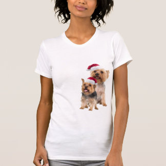 Silky Terrier Christmas Nightshirt T-shirts