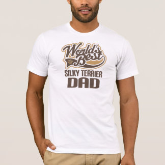 Silky Terrier Dad (Worlds Best) T-Shirt