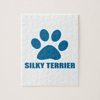 SILKY TERRIER DOG DESIGNS JIGSAW PUZZLE