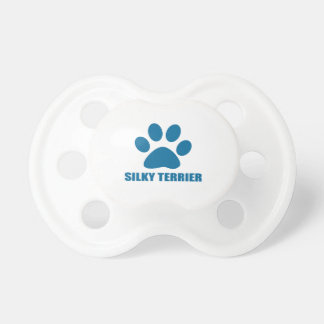 SILKY TERRIER DOG DESIGNS PACIFIER