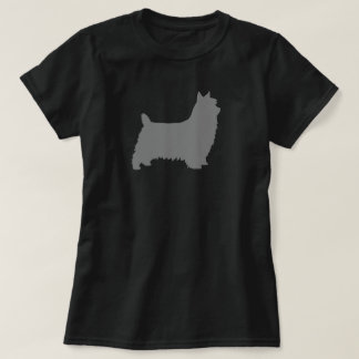 Silky Terrier Silhouette T-Shirt