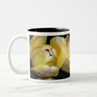 Silky Yellow Tulip Flowers Mug