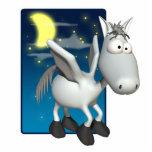 silly baby pegasus photo cutout