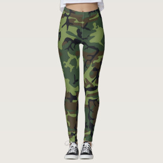 Silly Boys Girls wear Camouflage Better Leggings