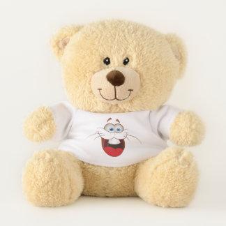 Silly Bunny Rabbit Face Teddy Bear