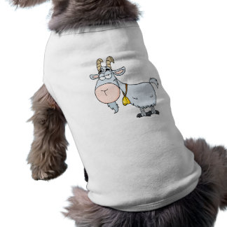 silly cartoon billy goat pet tshirt