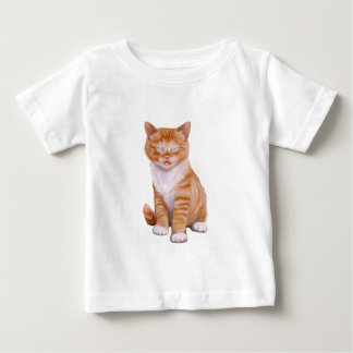 Silly Cat Baby T-Shirt