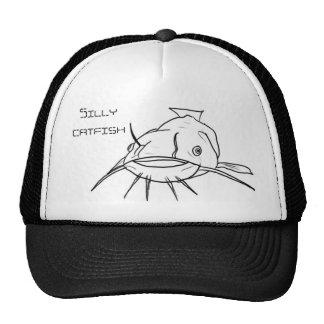 Silly catfish trucker hat
