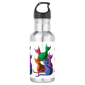 Silly Cats 532 Ml Water Bottle