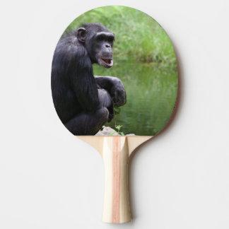 Silly Chimpanzee Ping-Pong Paddle