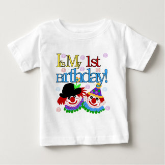 Silly Clowns 1st Birthday Tshirts and Gifts