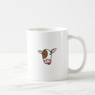 Silly cow tongue face coffee mug
