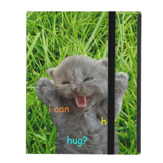 Silly Cutie Hug iPad Case