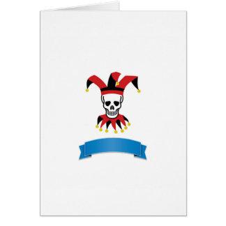 silly death clown card