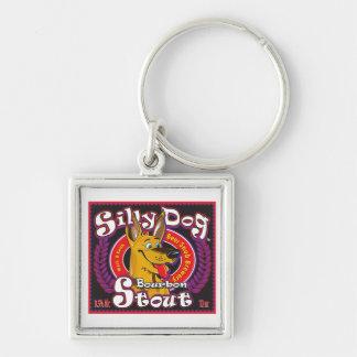 Silly Dog Bourbon Stout Keychain