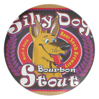 Silly Dog Bourbon Stout Plate