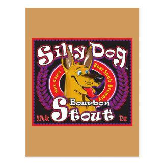 Silly Dog Bourbon Stout Postcard