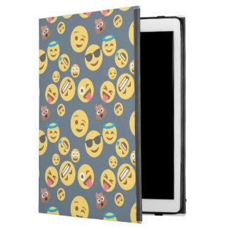 "Silly Emoji Grey Pattern iPad Pro 12.9"" Case"