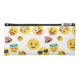 Silly Emoji Patterned Pencil Case