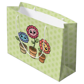 Silly Flowers gift bag
