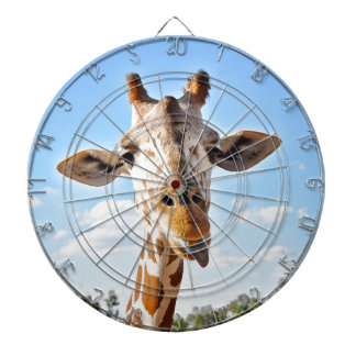 Silly Giraffe Dartboard