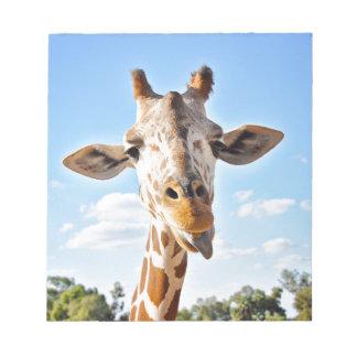 Silly Giraffe Notepad