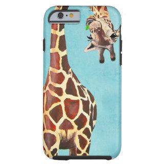 Silly Giraffe Tough iPhone 6 Case