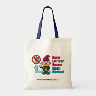 Silly Gnome and Mustard Tote Bag