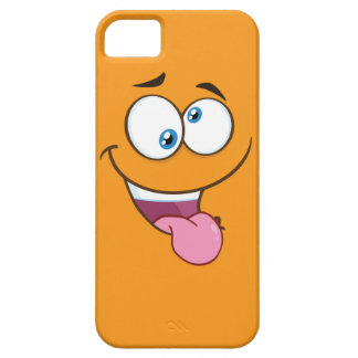 Silly Goofy Square Emoji Case For The iPhone 5