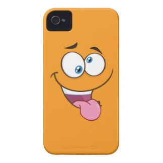 Silly Goofy Square Emoji iPhone 4 Case