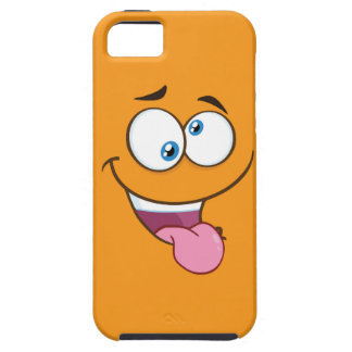 Silly Goofy Square Emoji iPhone 5 Cover