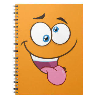 Silly Goofy Square Emoji Notebook
