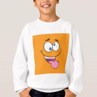 Silly Goofy Square Emoji Sweatshirt