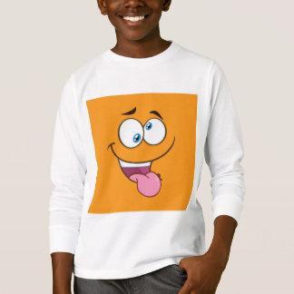 Silly Goofy Square Emoji T-Shirt