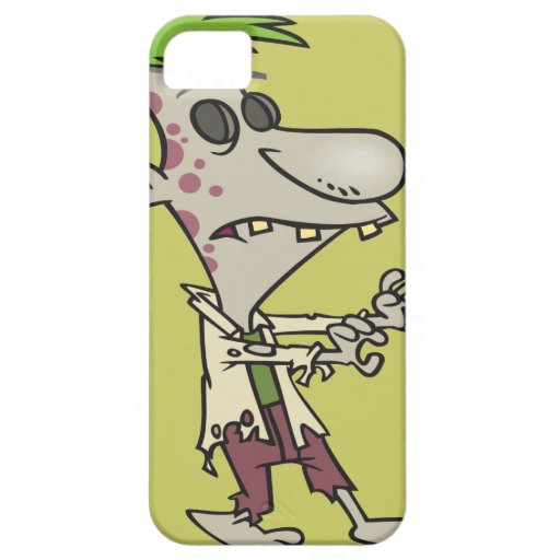 silly goofy zombie cartoon character iPhone 5 cover