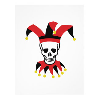 silly hat of death customized letterhead