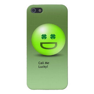 Silly Irish Lucky Emoticon Phone Case iPhone 5 Cover