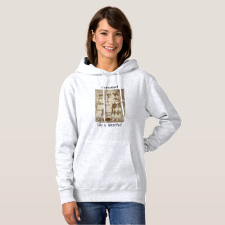 Silly is inherited hoodie