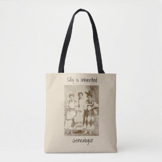 Silly is inherited tote bag