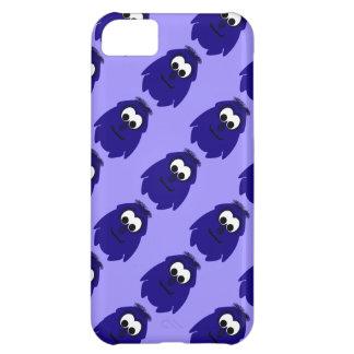 Silly Little Dark Blue Violet Monster Case For iPhone 5C