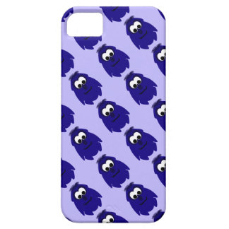 Silly Little Dark Blue Violet Monster iPhone 5 Covers