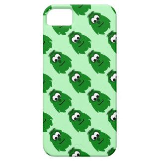 Silly Little Dark Green Monster iPhone 5 Case