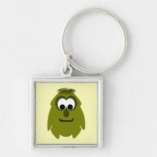 Silly Little Dark Yellow Monster Keychains