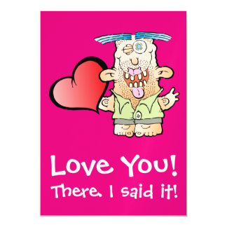 Silly Monster's Even More Mushy Magnetic Postcard Magnetic Invitations