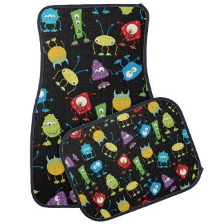 Silly Monsters Car Mats