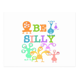 Silly Monsters Postcard